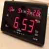 ساعت رومیزی و دیواری دیجیتالی led قرمز بزرگ